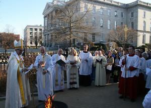 Easter Vigil, 2013
