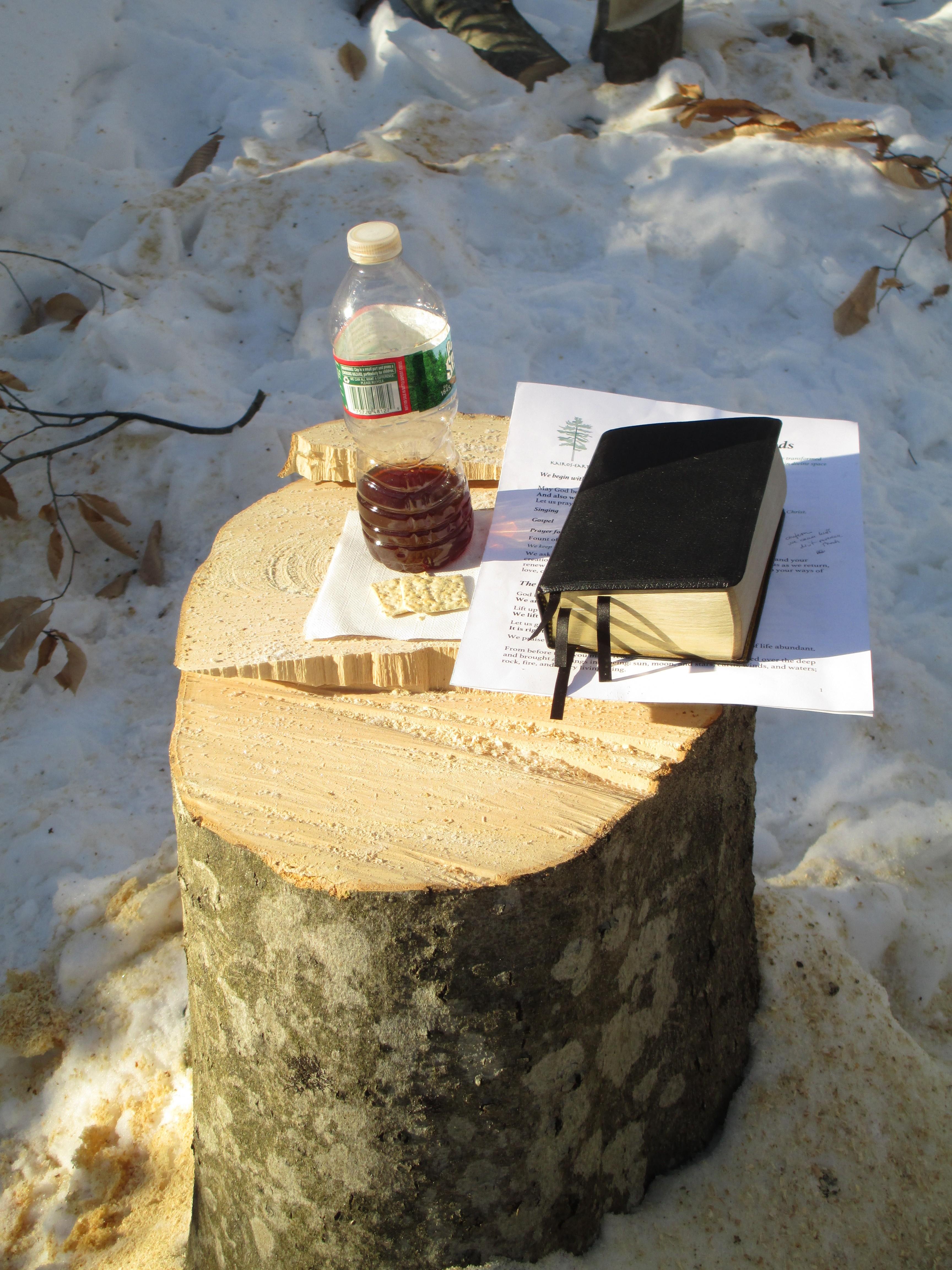 A Chainsaw Eucharist